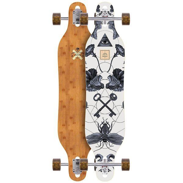 Arbor アーバー スケートボード スケボー ロングスケートボード ロングボード コンプリート 海外モデル アメリカ直輸入 海外正規品 Arbor Skateboard - Axis 40 Bamboo 2018