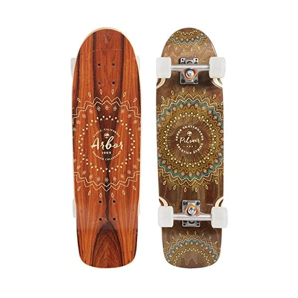 Arbor アーバー スケートボード スケボー コンプリート 海外モデル アメリカ直輸入 海外正規品 Arbor Pilsner Complete Skateboard