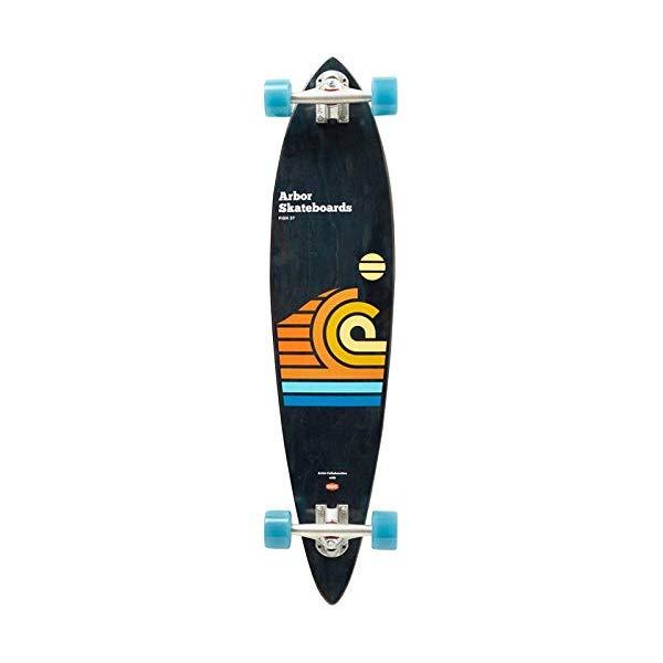 Arbor アーバー スケートボード スケボー フィッシュ ロングスケートボード ロングボード 海外モデル アメリカ直輸入 海外正規品 Arbor Skateboard - Fish Longboard (All Graphics) Draplin 2019