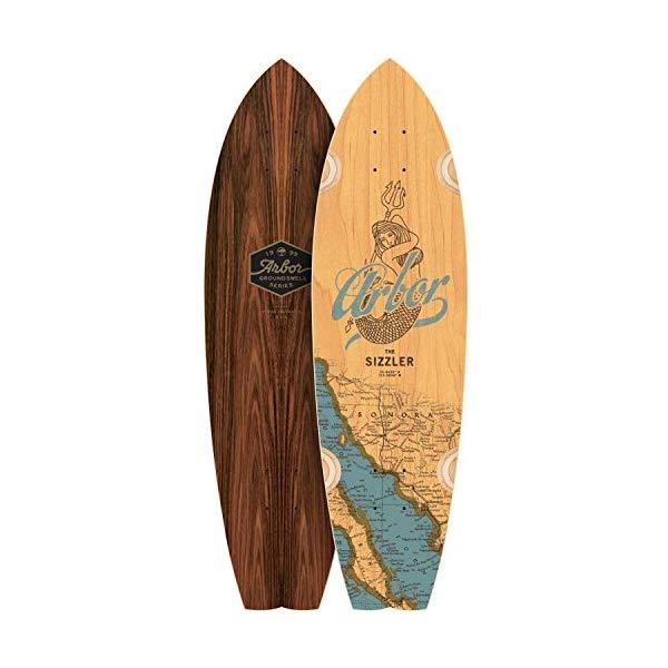 Arbor アーバー スケートボード スケボー ロングスケートボード ロングボード 海外モデル アメリカ直輸入 海外正規品 Arbor Sizzler 31