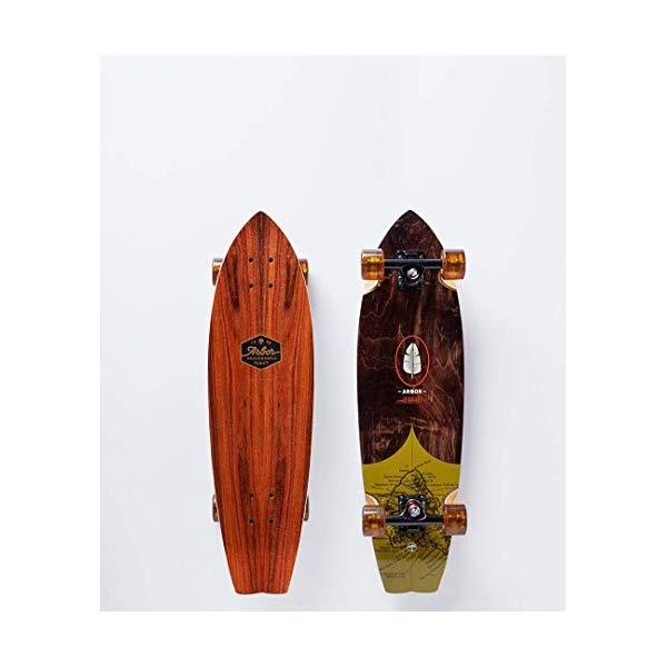 Arbor アーバー スケートボード スケボー ロングスケートボード ロングボード コンプリート 海外モデル アメリカ直輸入 海外正規品 Arbor Sizzler Groundswell 2018 Complete Longboard Skateboard New