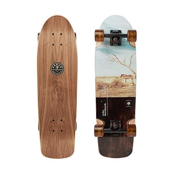 Arbor アーバー スケートボード スケボー ロングスケートボード ロングボード 海外モデル アメリカ直輸入 海外正規品 Arbor Pilsner Photo 2019 Mini Longboard Skateboard