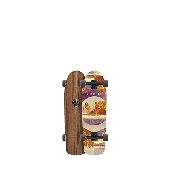 Arbor アーバー スケートボード スケボー コンプリート 海外モデル アメリカ直輸入 海外正規品 Arbor Pilsner Photo Complete Skateboard, Nocturnal, 28.75