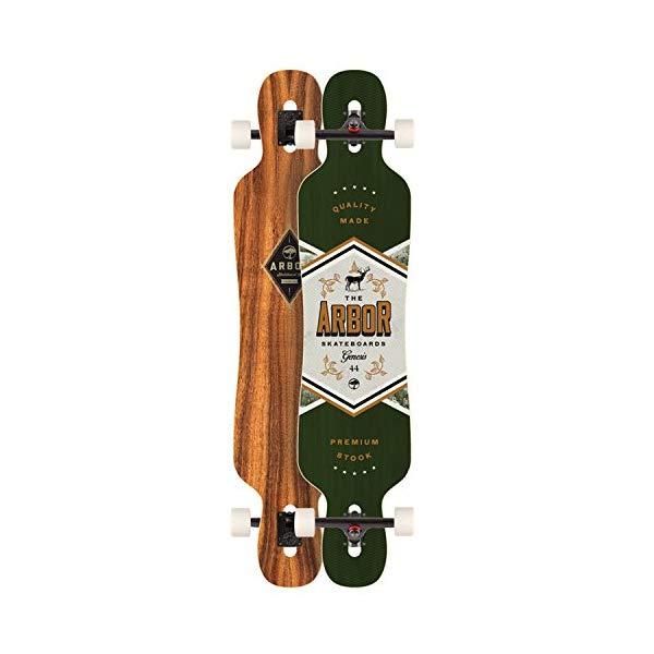 Arbor アーバー スケートボード スケボー ロングスケートボード ロングボード コンプリート 海外モデル アメリカ直輸入 海外正規品 Arbor Genesis 44