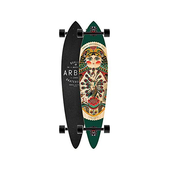 Arbor アーバー スケートボード スケボー フィッシュ ロングスケートボード ロングボード コンプリート 海外モデル アメリカ直輸入 海外正規品 Arbor Longboard Complete Fish GT 2015