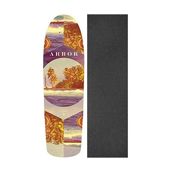 Arbor アーバー スケートボード スケボー デッキ 海外モデル アメリカ直輸入 海外正規品 Arbor Photo Collection Pilsner Deck 8.25x28.75