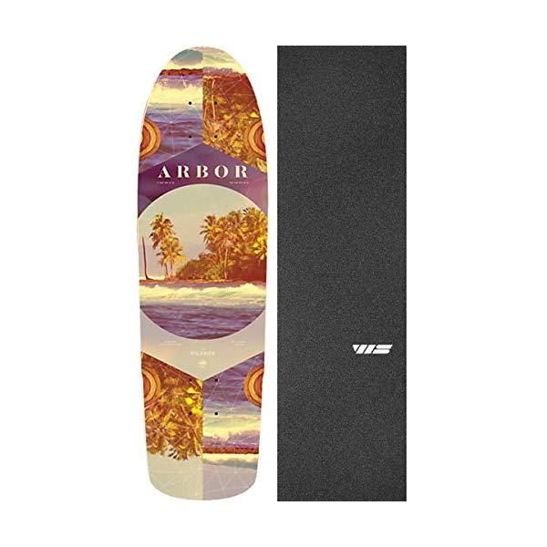 Arbor アーバー スケートボード スケボー デッキ 海外モデル アメリカ直輸入 海外正規品 Arbor Skateboards Photo Collection Pilsner Cruiser Skateboard Deck 8.25