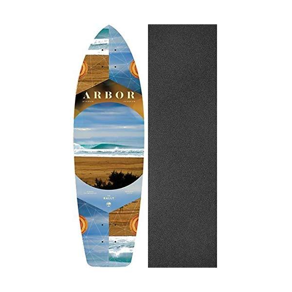 Arbor アーバー スケートボード スケボー デッキ 海外モデル アメリカ直輸入 海外正規品 Arbor Skateboards Photo Collection Rally Cruiser Skateboard Deck 8.9