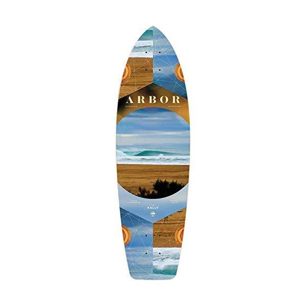 Arbor アーバー スケートボード スケボー デッキ 海外モデル アメリカ直輸入 海外正規品 Arbor Skateboards Photo Collection Rally Skateboard Deck 8.9