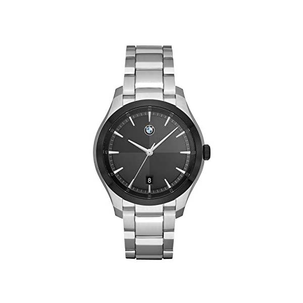 正規品 BMW 腕時計 ウォッチ メンズ 男性用 Mスポーツ モータースポーツ コレクション 納車祝い 車好き ビーマー グッズ プレゼント BMW Men's Three-Hand Stainless Steel Quartz Watch, マルサンのりオンラインショップ 93a41088