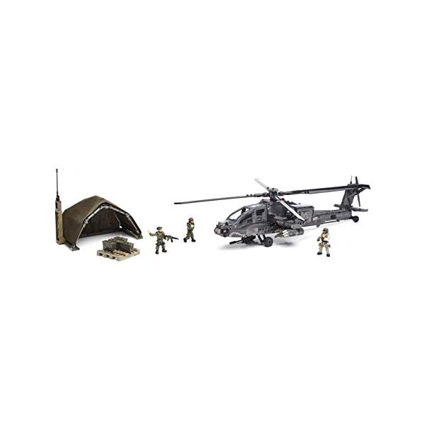 コールオブデューティ メガブロック ブロック おもちゃ フィギュア Mega Bloks Call of Duty Anti-Armor Helicopter Collector Construction Set