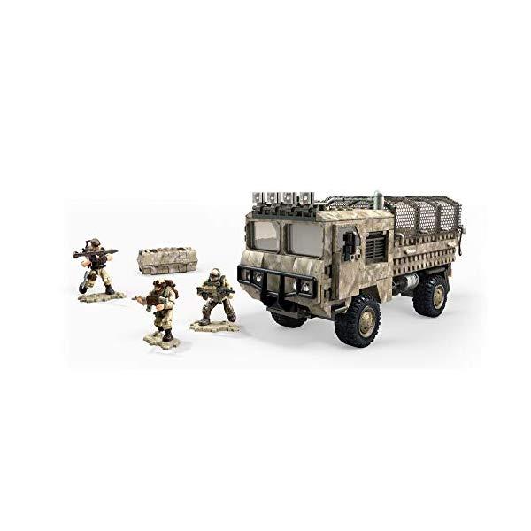 コールオブデューティ メガブロック メガコンストラックス ブロック おもちゃ フィギュア Mega Construx Call Of Duty Transport Truck