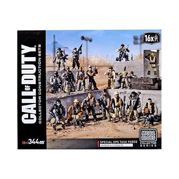 コールオブデューティ メガブロック メガコンストラックス ブロック おもちゃ フィギュア Mega Construx Call of Duty: Special Ops Task Force Construction Set