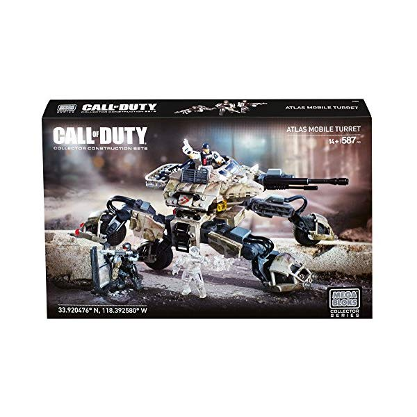 コールオブデューティ メガブロック ブロック おもちゃ フィギュア Mega Bloks Call of Duty Atlas Mobile Turret Building Set