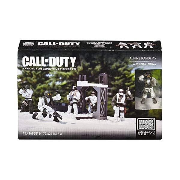 コールオブデューティ メガブロック ブロック おもちゃ フィギュア Mega Bloks Call of Duty Alpine Rangers