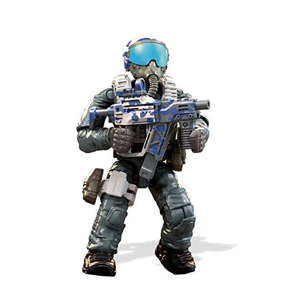コールオブデューティ メガブロック メガコンストラックス ブロック おもちゃ フィギュア Mega Construx Call of Duty Jet Pilot Construction Set
