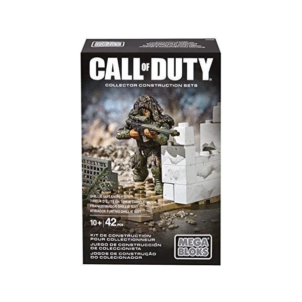 コールオブデューティ メガブロック ブロック おもちゃ フィギュア Mega Bloks Call of Duty Ghillie Suit Sniper