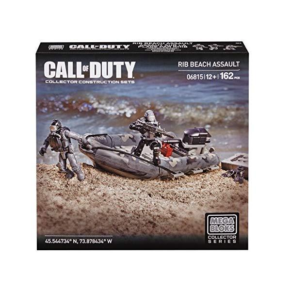 コールオブデューティ メガブロック ブロック おもちゃ フィギュア Mega Bloks Call of Duty RIB Beach Assault, Model 06815