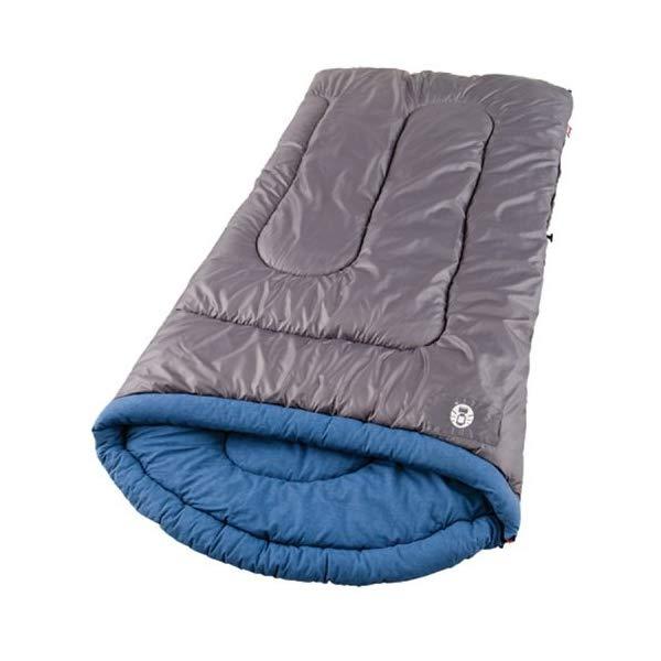 コールマン 寝袋 スリーピングバッグ シュラフ Coleman White Water Adult Sleeping Bag, Big & Tall