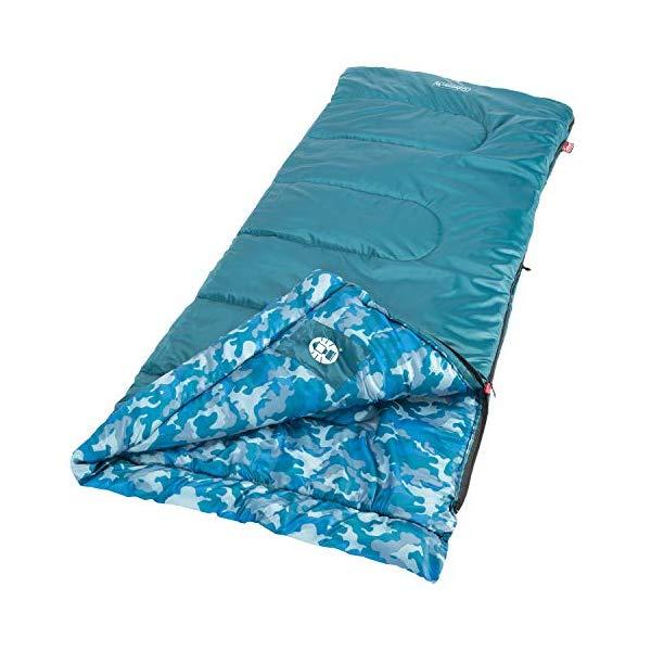コールマン 寝袋 スリーピングバッグ シュラフ Coleman Plum Fun 45 Youth Sleeping Bag