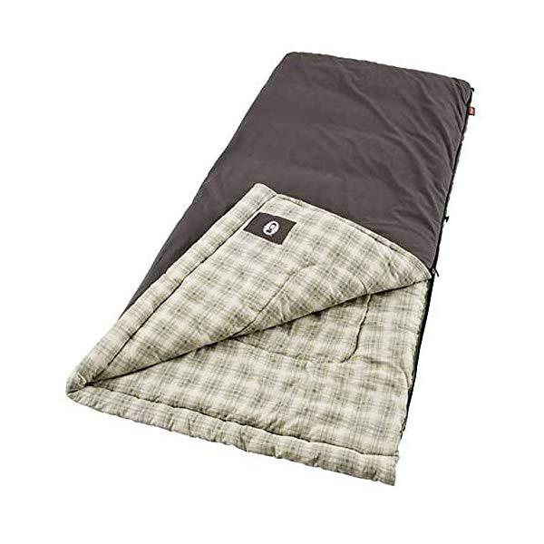 コールマン 寝袋 スリーピングバッグ シュラフ Coleman Heritage Big and Tall Adult Sleeping Bag