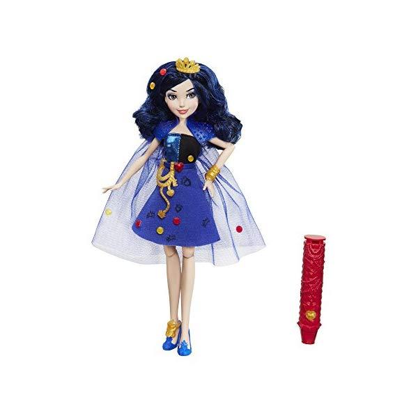 ディズニー ディセンダント イヴィ ドール 人形 フィギュア 着せ替え おもちゃ グッズ Disney Descendants 2 Evie's 4 Hearts Doll, 11 Inches