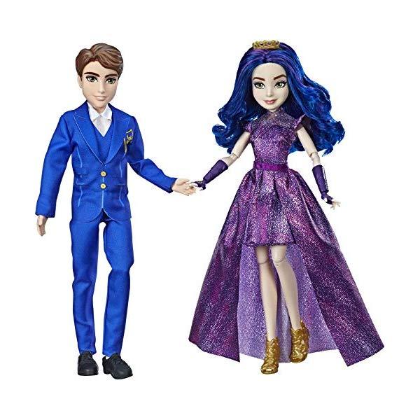 ディズニー ディセンダント ドール 人形 フィギュア 着せ替え おもちゃ グッズ Disney Descendants 3 Royal Couple Engagement, 2-Doll Pack with Fashions and Accessories