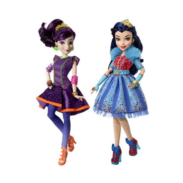ディズニー ディセンダント ドール 人形 フィギュア 着せ替え おもちゃ グッズ Disney Descendants Neon Lights Feature Dolls Set of 2