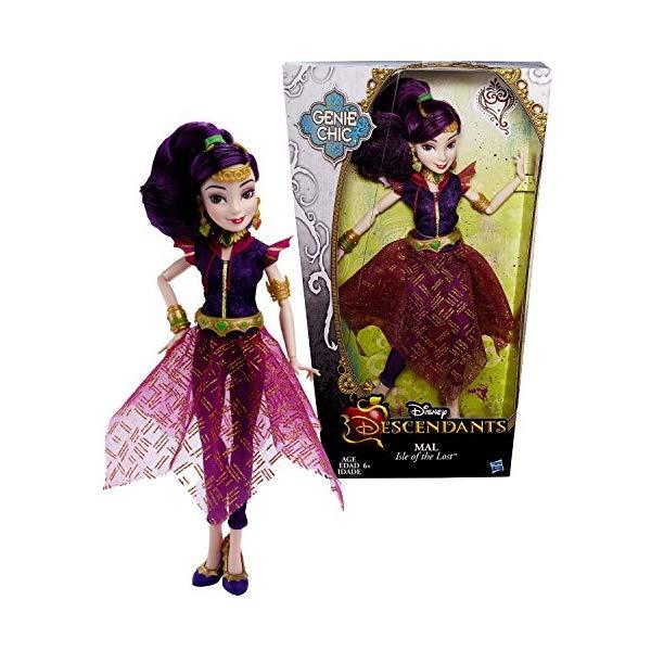 ディズニー ディセンダント ドール 人形 フィギュア 着せ替え おもちゃ グッズ Genie Disney Year 2015 Descendants Chic Series 12 Inch Doll - Isle of The Lost MAL with Earrings and Choker Necklace