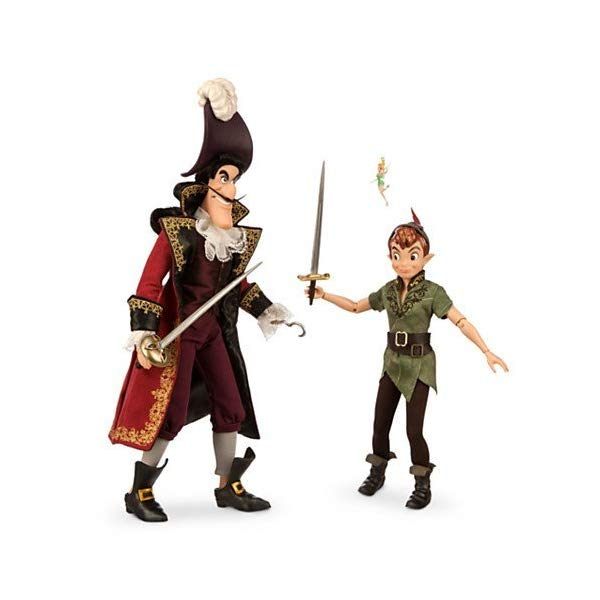 ディズニー ピーターパン フック船長 デザイナー コレクション Disney Fairytale Designer Collection Peter Pan and Captain Hook Limited Edition Dolls by Disney