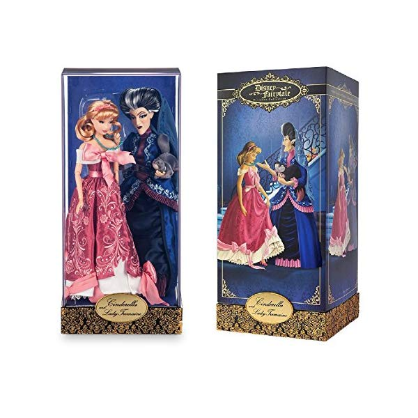 ディズニー シンデレラ トレメイン夫人 デザイナー コレクション Disney - FAIRYTALE DESIGNER LE 6000 CINDERELLA & LADY TREMAINE DOLL SET 2016