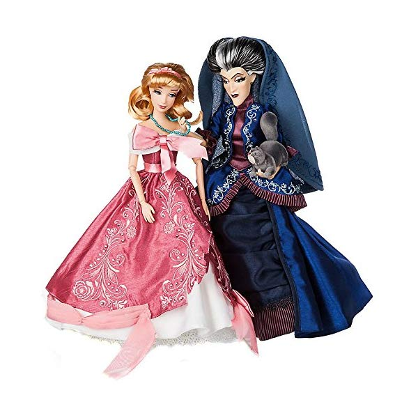 ディズニー シンデレラ トレメイン夫人 デザイナー コレクション Disney Snow White Disney Fairytale Designer Collection Cinderella & Lady Tremaine Exclusive Doll Set