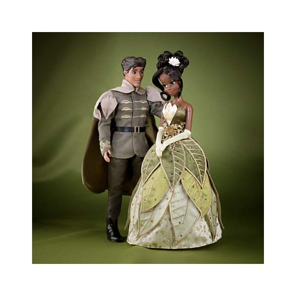 ディズニー プリンセスと魔法のキス ティアナ 王子様 デザイナー コレクション Disney Fairytale Designer Collection Tiana And Prince Naveen Dolls- Limited Edition - Includes A Certificate Of Authenticity