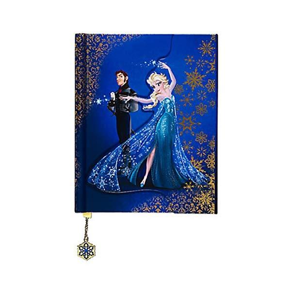 ディズニー アナと雪の女王 エルサ デザイナー コレクション ノート Elsa and Hans Fairytale Journal Disney Store Fairytale Designer Collection