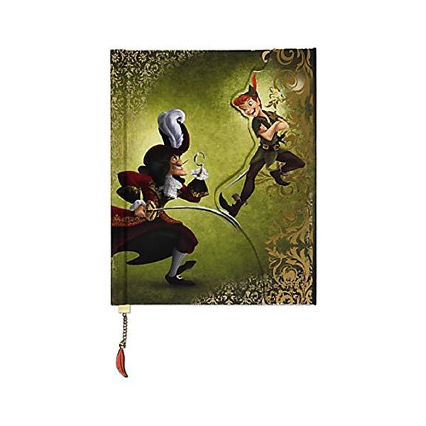 ディズニー ピーターパン フック船長 デザイナー コレクション ノート Peter Pan Captain Hook Fairytale Journal Disney Fairytale Designer Collection