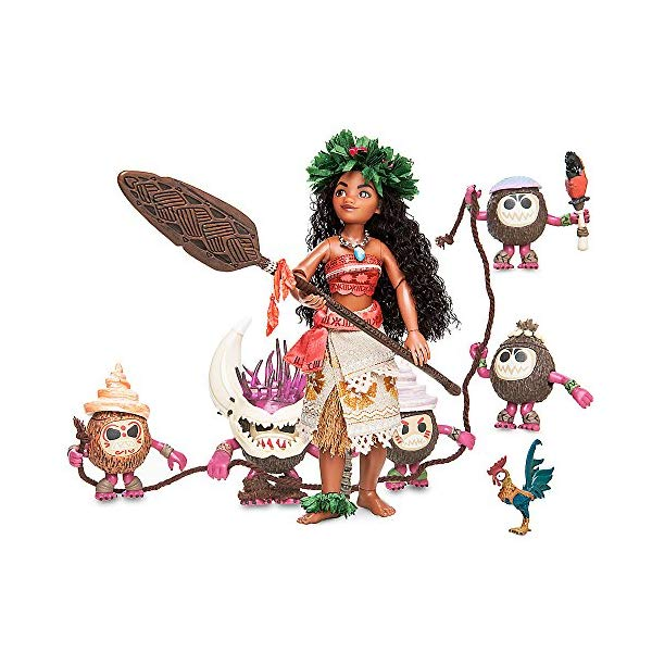 ディズニー モアナ ヘイヘイ デザイナー コレクション Moana and Heihei Doll Set - Disney Designer Fairytale Collection - Limited Edition