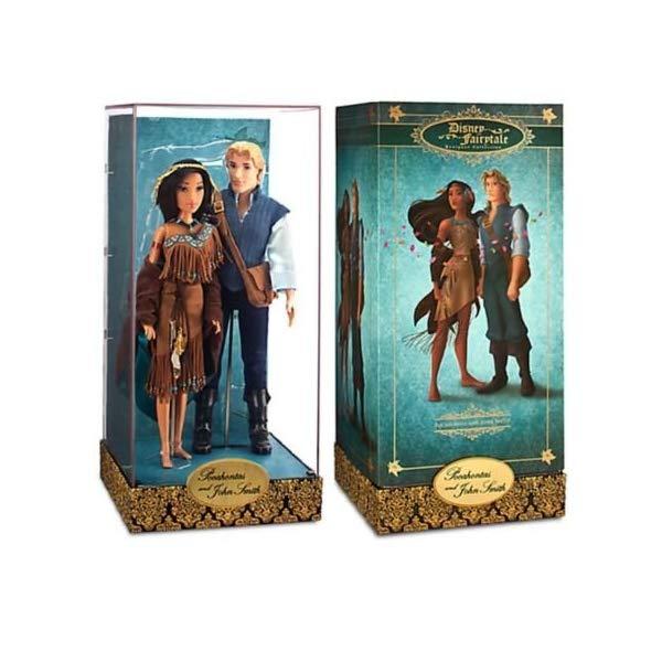 ディズニー ポカホンタス デザイナー コレクション 限定品 Disney Store Fairytale Designer Collection POCAHONTAS & JOHN SMITH Limited Ed, Set 4122 out of 6000