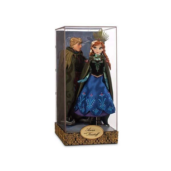 ディズニー アナと雪の女王 アナ デザイナー コレクション Disney Exclusive Limited Edition Frozen Fairytale Designer Collection Anna and Kristoff Doll Set by Disney