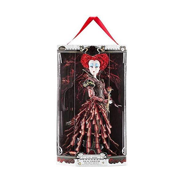 ディズニー アリス・イン・ワンダーランド 赤の女王 デザイナーコレクション 限定品 Disney Store Alice Through the Looking Glass Limited Edition Designer 17'' Doll - Iracebeth the Red Queen - LE of 4000