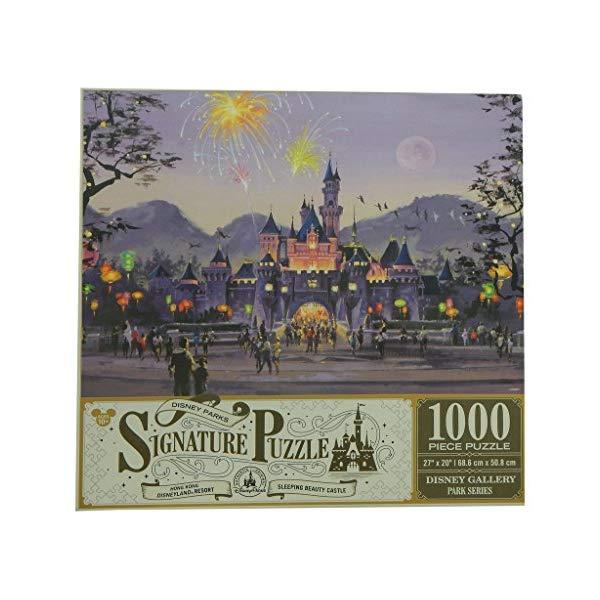 ディズニー 眠れる森の美女 1000ピース パズル Disney Parks Signature Puzzle Sleeping Beauty Castle - Hong Kong Disneyland