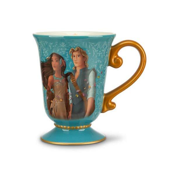 ディズニー ポカホンタス デザイナー コレクション Pocahontas and John Smith Mug - Disney Fairytale Designer Collection
