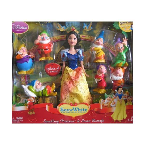 ディズニー 白雪姫 7人の小人 Disney Princess SNOW WHITE and The Seven Dwarfs Set (2009)