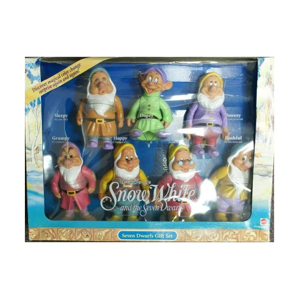 ディズニー 白雪姫 7人の小人 人形 ギフトセット Disney Snow White and the Seven Dwars - Seven Dwarfs Gift Set