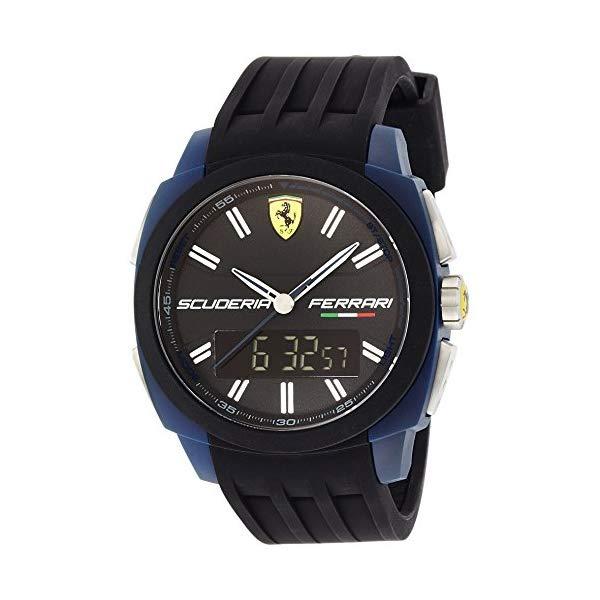 フェラーリ 腕時計 Ferrari Aerodinamico ウォッチ Ferrari - Wristwatch, analogico - digitale al quarzo, silicone