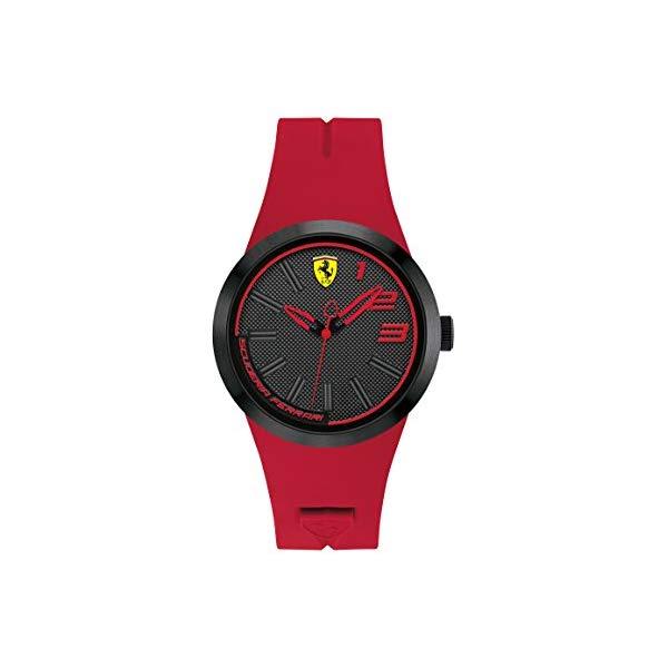 フェラーリ 腕時計 Ferrari 840017 ウォッチ ユニセックス 男女兼用 Ferrari FXX Grey Dial Red Silicone Unisex Watch 840017