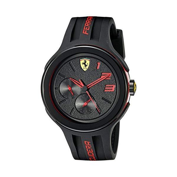 フェラーリ 腕時計 Ferrari 830223 ウォッチ メンズ 男性用 Ferrari Men's 830223 FXX Red-Accented Black Watch