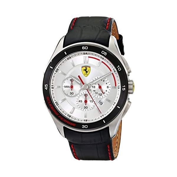 フェラーリ 腕時計 Ferrari 830186 ウォッチ メンズ 男性用 Ferrari Men's 0830186 Gran Premio Analog Display Quartz Black Watch