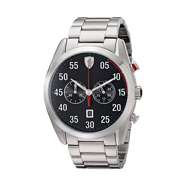 フェラーリ 腕時計 Ferrari 830176 ウォッチ メンズ 男性用 Ferrari Men's 0830176 D 50 Analog Display Quartz Silver Watch