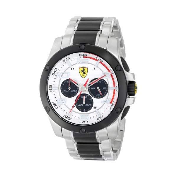 フェラーリ 腕時計 Ferrari 830034 ウォッチ メンズ 男性用 Ferrari Men's 830034 Analog Display Japanese Quartz Silver Watch