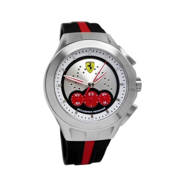 フェラーリ 腕時計 Ferrari 830022 ウォッチ メンズ 男性用 Ferrari Men's 830022 Analog Display Japanese Quartz Black Watch